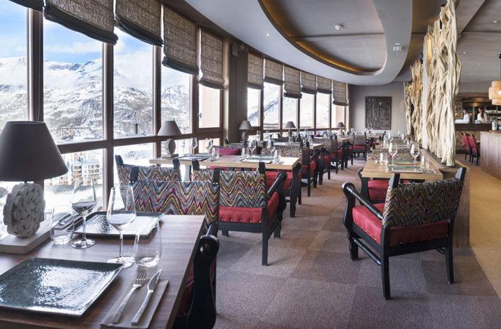 Restaurant Le Taos à Tignes