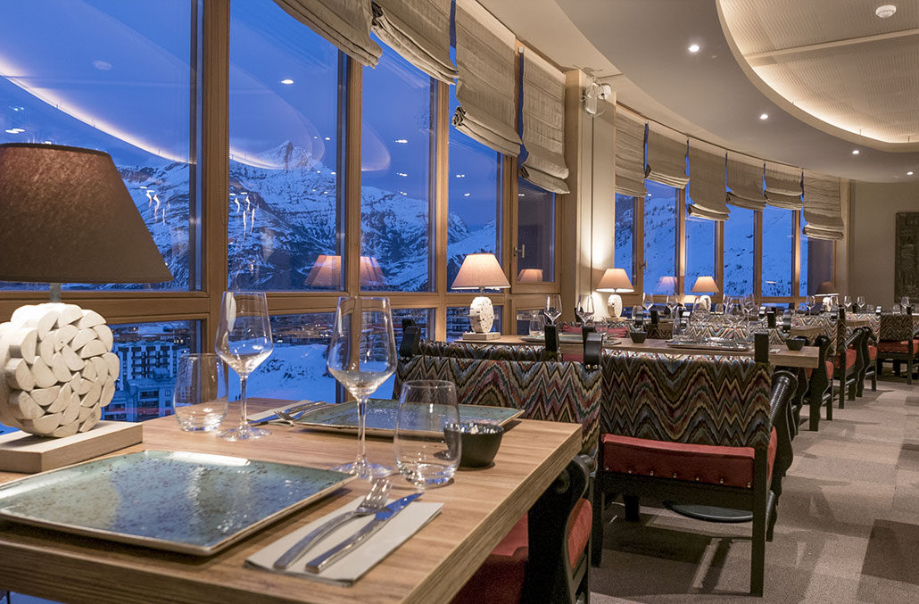 Restaurant Menu Tignes