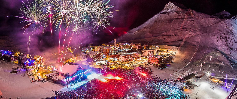 Tignes station de ski