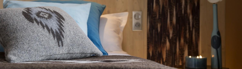 Kamer er suite van het Hotel Le Taos