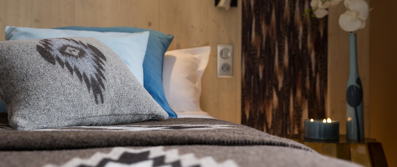 Chambre er suite de l'hotel Le Taos