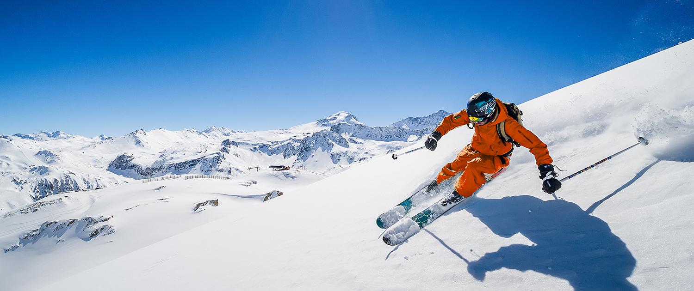 L'espace Killy, domaine skiable