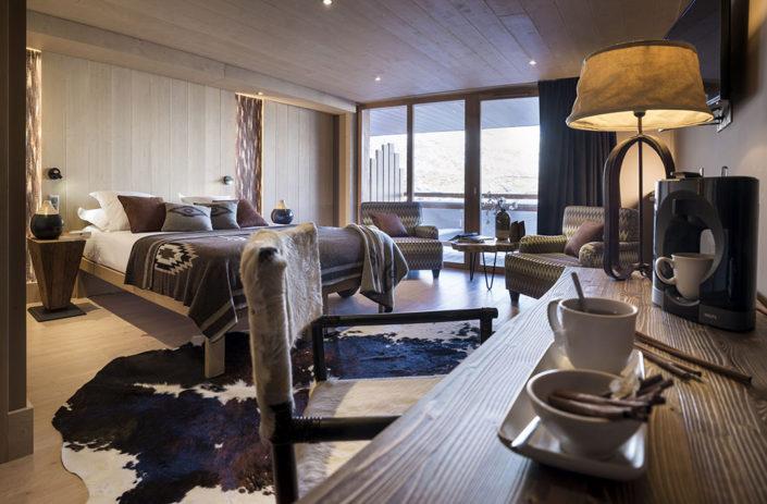 Hôtel Le Taos à Tignes le lac