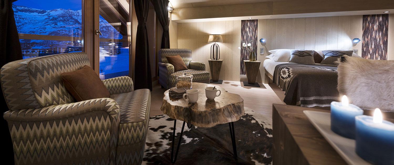 Réserver à l'hôtel Le Taos à Tignes